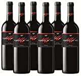 Vino Tinto Marqués de Ulia Crianza (D.O.Ca. Rioja) - 6 botellas de 750 ml - Total:...