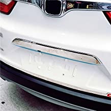 BeHave Chrome Rear Trunk Lid Tailgate Door Cover Trim, Molding Trim Molding Cover fit for Honda CRV 2017,Pack of 1 Piece of Door Trunk Lid Cover Decorate Trim Cover