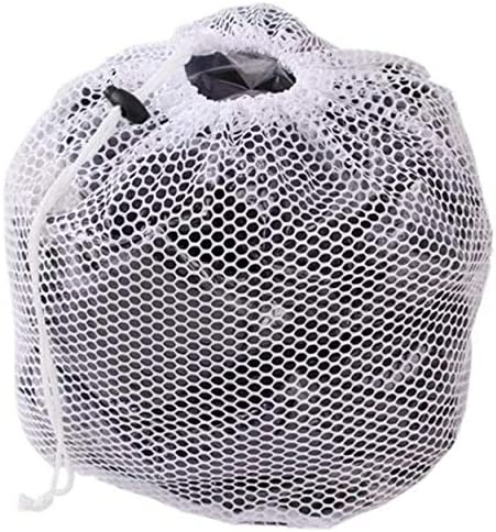 Premium Fine Mesh Laundry Bag Sturdy White Mesh Material with Drawstring Closure Ideal Machine product image