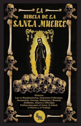 La Biblia de la Santa Muerte (libro) Paperback Holy Death Bible in Spanish