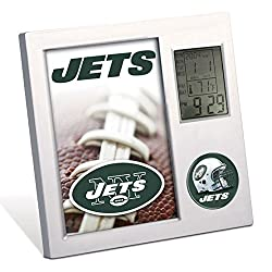 New York Jets NFL Desk Clock