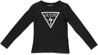 Girls' Big Long Sleeve Core Triangle T-Shirt