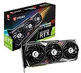 MSI Gaming GeForce RTX 3070 8GB GDRR6 256-Bit HDMI/DP Tri-Frozr 2 TORX Fan 4.0 Ampere Architecture RGB OC Graphics Card (RTX 3070 Gaming X Trio)