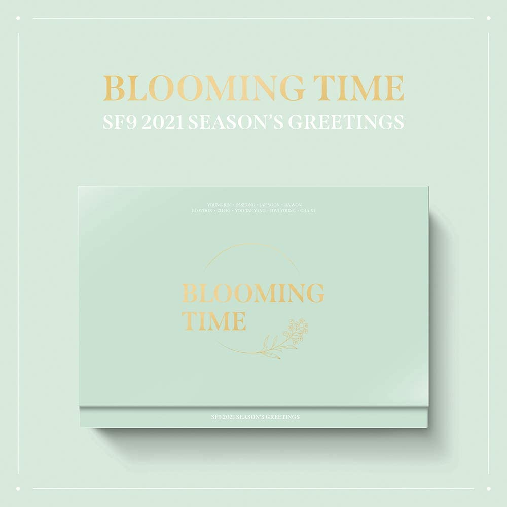 FNC Direct stock discount Entertainment SF9-2021 Season's Greetings Clearance SALE! Limited time! Blooming Time+Extr