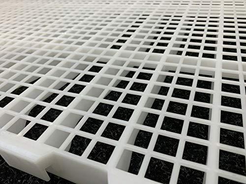Generisch FIT Kunststoffrost, Plastic Slat 40x560x1000mm, Geflügelhaltung, Mobilstall