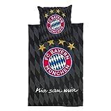 FC Bayern München Bettwäsche schwarz