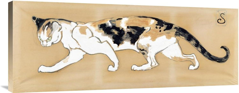 Global Global Global Galerie Budget gcs-265576–91,4–360,7 cm Theophile Steinlen die Katze Galerie Wrap Giclée-Kunstdruck auf Leinwand Art Wand B01K1Q5IL8   Angemessene Lieferung und pünktliche Lieferung  45acbb