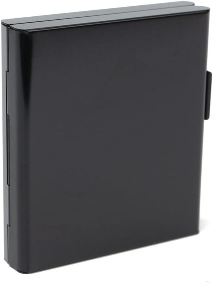 Aluminum Max 71% OFF Cigarette Case Storage Container Fort Worth Mall Double Flip Ope Sided