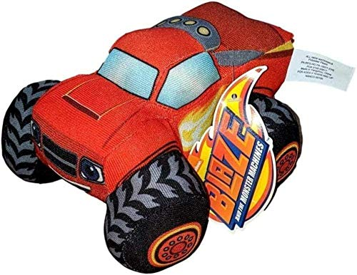 N-R Blaze The Monster Machines 6.5 Inches Tall Plush Stuffed Toy1