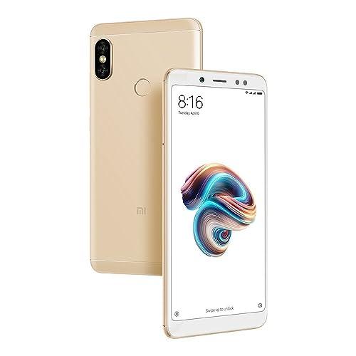 Xiaomi Mi Redmi Note 5 Pro Phone (Gold, 64 GB, 4 GB RAM)