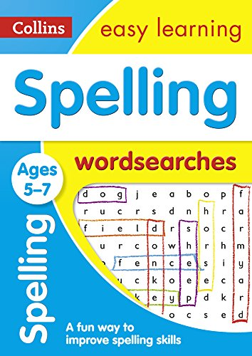 Spelling Word Searches Ages 5-7: Prepare for school with easy home learning (Collins Easy Learning KS1)