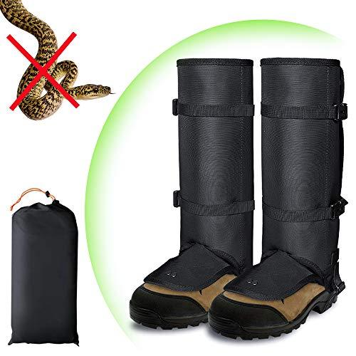 ayamaya Snake Gaiters Guards for Women Men Legs, Waterproof Snake Proof Bite Protection Legging Lightweight Breathable Snake Gators Anti Dust Mud Debris Rock Bush High Boots Cover for Lower Leg