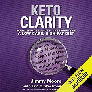 Keto Clarity audiobook cover art