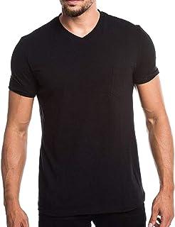 ebcc31a9b7 XLnuln Men's Summer Casual T-Shirts Style Simple Pocket Plain Short Sleeve  Fashion Comfortable Top