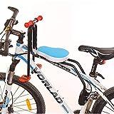 Oeternity Asiento De Bicicleta para Niños, Portaequipajes Plegable para Asiento De Bicicleta para...