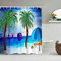 シャワーカーテンルート米国防水バスカーテンフック含まれるdBathroom装飾的なアイデアポリエステル生地アクセサリー