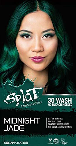 Splat | Midnight Jade | 30 Wash Temporary Hair Dye
