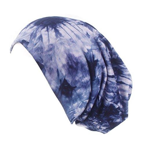 Mamum Confort Bonnet pour La Chimio, Cancer, Cheveux (Bleu foncé)