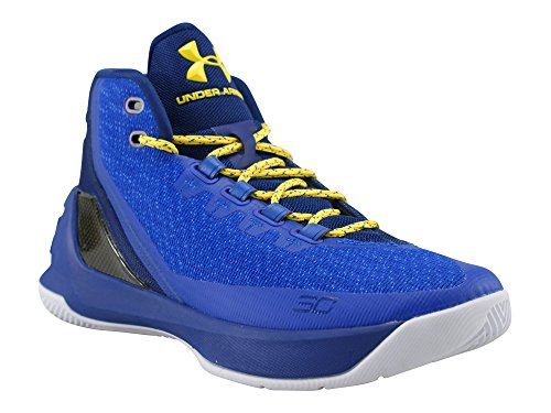 Under Armour Men's Curry 3 Basketball Shoes 13 Blue