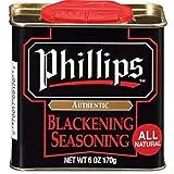 Phillips Blackening Seasoning used in Phillips Seafood Restaurants on Blackened Chicken, Fish &...