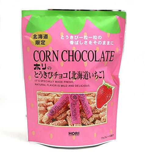ホリ とうきびチョコ 北海道いちご