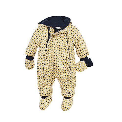Catimini Pilote Imprime Combinaison de Neige, Jaune (Jaune Moyen), 9-12 Mois (Taille Fabricant: 9M) Bébé Fille