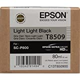 Epson C13T850900 Cartuccia Inkjet, Nero Luce, con Amazon Dash Replenishment Ready
