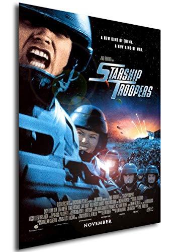 Instabuy Poster Starship Troopers (Las brigadas del Espacio) Vintage Movie Poster - A3 (42x30 cm)