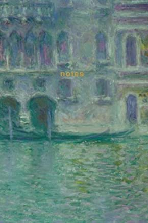 notes claude monet journal palazzo da mula monet notebook 175 pages iconic art journals volume 5