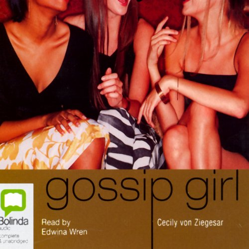 Gossip Girl audiobook cover art