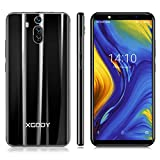 Xgody 6 Inch Android 8.1 Cellphone Unlocked Dual Camera HD (18:9) Screen Unlocked Smartphone 8GB Celulares Desbloqueados 2G/3G Network for T-Mobile/AT&T/MetroPCS (Black, 6 inch)