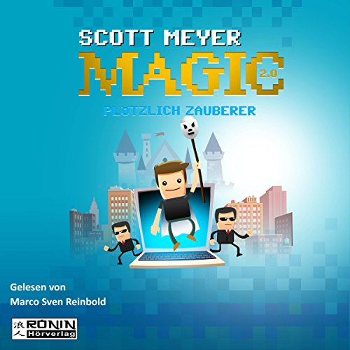 Plötzlich Zauberer (Magic 2.0, 1) audiobook cover art
