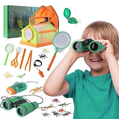 Amazon - 70% Off on Outdoor Kids Nature Explorer Kit Set, Bug Catcher Kit with Flashlight…