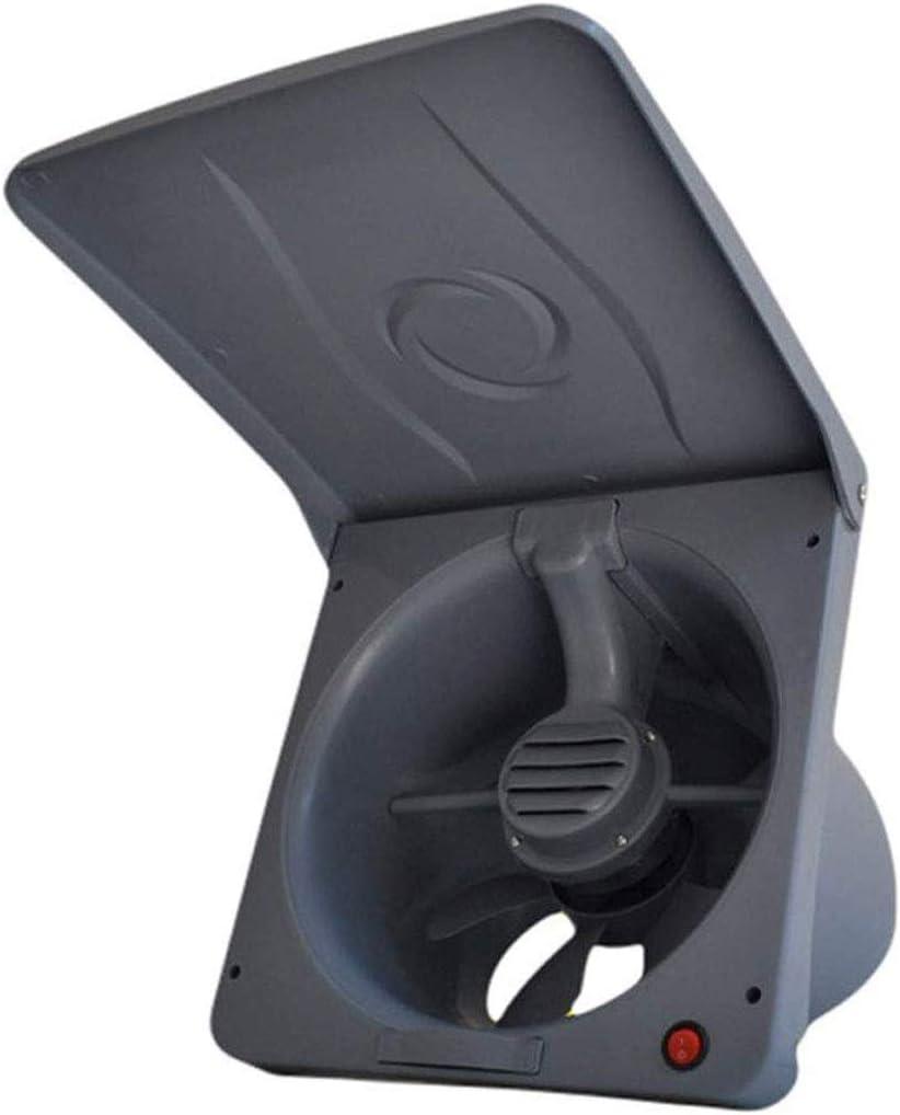 JJZXT Extractor - Flip 10 Pulgadas Extintor Ventilador de ventilación de la Cocina Campana extractora Potente Ventilador silencioso