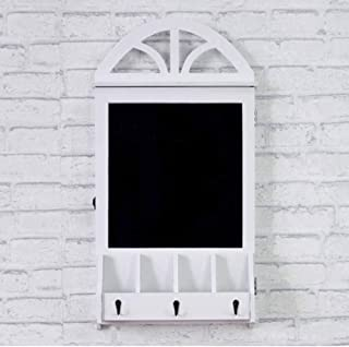 Tablero de mensajes Ornamento Oclusión Caja Tablero de mensajes Nordic Creative Blackboard Clave Caja de almacenamiento Po...