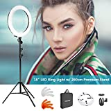 Neewer Kit SMD Luce LED Anulare per Fotografia e Riprese Video;...