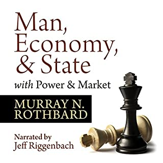 Man, Economy, and State with Power and Market - Scholar's Edition audiobook cover art