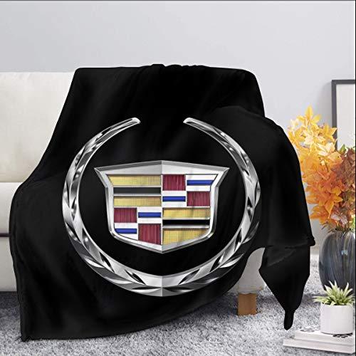 Cadillac Manta de forro polar tamaño queen, mantas y mantas pelusas para todas las estaciones, suave y mullida manta de franela cálida para sofá, cama, Navidad
