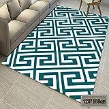 LIYANJIN Teppich,Moderne Teppiche für Wohnzimmer - Soft Touch Designer-Teppich für zu Hause Große Zimmergrößen (In verschiedenen Größen und Farben erhältlich),Green,120x160cm