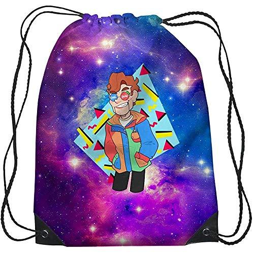 Not Applicable Drawstring Bag,Go-Os-Ebu-Mps Kordelzug-Einkaufstasche, Premium-Kordelzug-Reisetaschen Für Erwachsene Jungen Mädchen,36x43cm