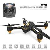 Hubsan H501S X4 Brushless Drone GPS 1080P Caméra 20Minutes avec H901A Emetteur Noir Standard (2 Batteries de Drone)