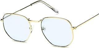 Sunglasses Women Small Frame Clear Lens Sunglasses Men Vintage Sun Glasses