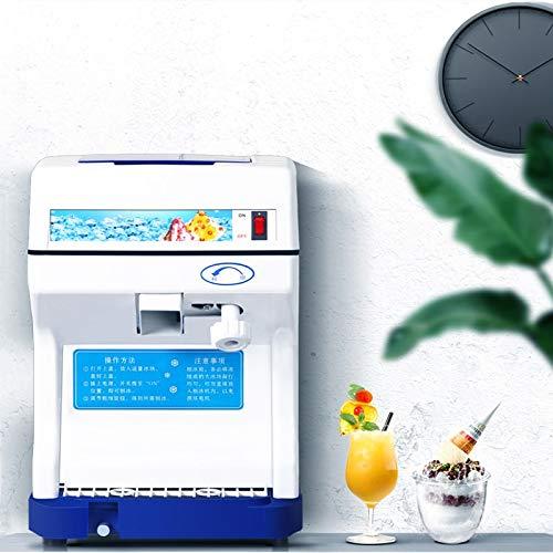 SHIJING Volle automatische Eiscrusher-Schneeflocke-EIS-Planierer-elektrischer Smoothie-Maschinen-EIS-Planierer für Milch-Tee-Geschäft