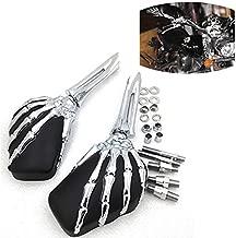 Motorcycle Claw Skeleton Hand Mirror For Honda Cb Cbr Rebel Shadow Mangna Vt Vtx 1300 1800