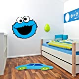 Sticky Pig Cookie Monster Sesam Street Wall Grafik