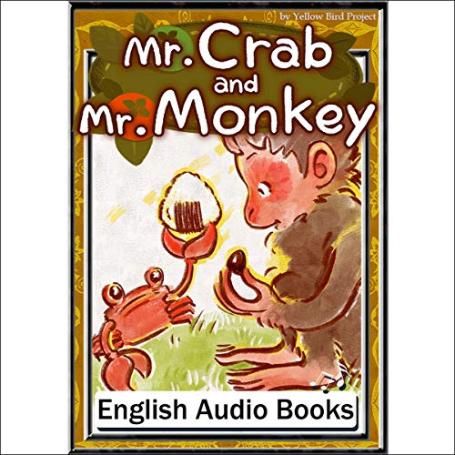 『Mr. Crab and Mr. Monkey(さるかに合戦・英語版)』のカバーアート