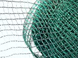 PERAGASHOP Offerta Rete ANTIGRANDINE Doppio Filo 6X10 MT Rete Recinzione Protezione Piante Giardino