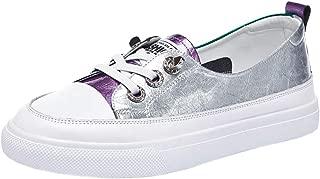 RAZAMAZA Women Fashion Low Top Sneakers Glitter