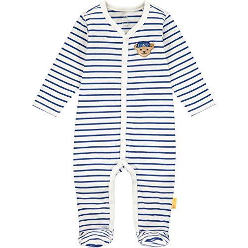 Steiff Baby-Jungen Strampler Nachthemd, Bright White, 056