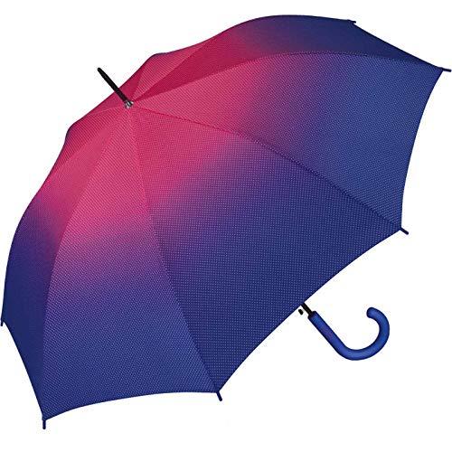 Esprit Parapluie long AC Sunrise, Violet (Multicolore) - .